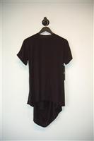 Basic Black Casa Como Short-Sleeved Top, size L