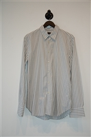 Striped Paul Smith - PS Button Shirt, size L