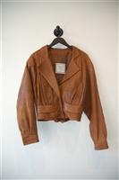 Saddle Brown Christian Dior - Vintage Leather Jacket, size L