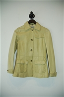 Chartreuse Hugo Boss - Boss Black Leather Jacket, size 6