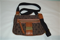 Mixed Browns Lamb Cross-Body, size S
