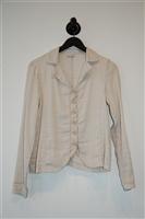 Pale Beige Transit Jacket, size M