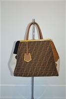 Mulit-Pattern Fendi Shopper, size XL