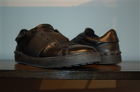 Black Leather Valentino Sneaker, size 8