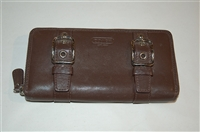 Dark Leather Coach Wallet, size O/S