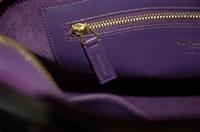 Royal Purple Saint Laurent Satchel, size S
