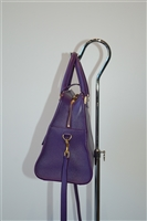 Royal Purple Saint Laurent Satchel, size S