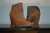 Taupe Elisanero Ankle Boots, size 8