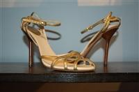 Gold Gucci Sandal, size 8