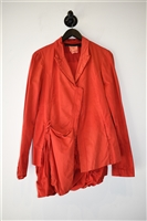 Bright Red Rundholz Dip Jacket, size S