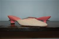 Raw Cotton Prada Kitten Heels, size 7.5