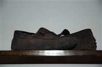 Black Suede Tod's Loafer, size 9.5