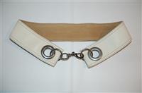 Ivory Miu Miu Belt, size M