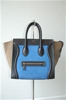Colour Blocked Celine Handbag, size L