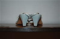 Powder Blue Prada Sandal, size 7.5