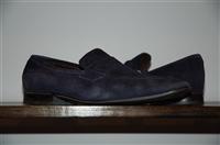 Navy Salvatore Ferragamo Loafer, size 9.5