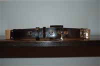 Black Leather Dolce & Gabbana Belt, size M