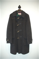 Charcoal Gloverall - Vintage Duffle Coat, size L