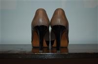 Dark Taupe Marni Peep-Toe, size 7.5
