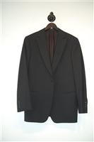 Basic Black Armani Collezioni Two-Piece Suit, size 40