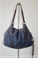 Sapphire Loewe Hobo, size M