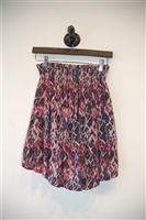 Abstract Print Iro Short Skirt, size 2