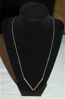 Sterling Silver No Label Necklace, size O/S