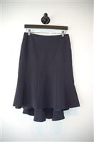 Navy BCBG Maxazria Trumpet Skirt, size 6