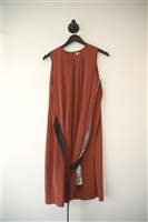 Rust Jeremy Laing Shift Dress, size S