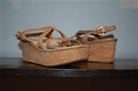 Beige Prada Sandal, size 8.5