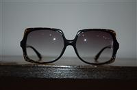 Shiny Black Michael Kors Sunglasses, size O/S