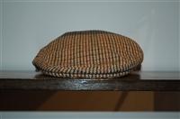 Plaid Barbour Flat Cap, size O/S