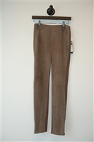 Mocca Max Mara - Weekend Leather Trouser, size XS