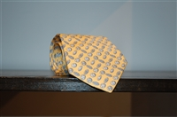 Soft Yellow Hermes Tie, size O/S