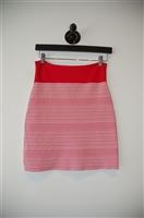 Red & White BCBG Maxazria Short Skirt, size M