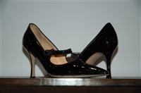 Black Patent Manolo Blahnik Mary Janes, size 9