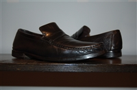 Black Leather Bruno Magli Loafer, size 8.5