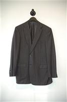 Gray Stripe Brioni Two-Piece Suit, size 40