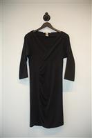 Basic Black Diane von Furstenberg Sheath Dress, size 8