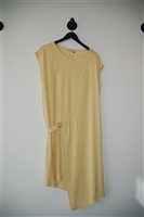 Pale Yellow Jeremy Laing Tunic Dress, size M