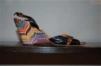 Rainbow Missoni Wedge, size 9.5