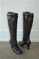 Espresso Gucci Boots, size 8.5