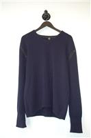 Navy Gianfranco Ferre - GFF Pullover, size L