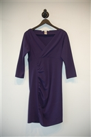 Royal Purple Diane von Furstenberg Sheath Dress, size 8