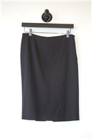 Navy Gucci Pencil Skirt, size S