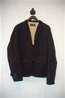Basic Black Armani Jeans Sport Coat, size 42
