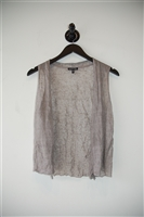Taupe Eileen Fisher Vest, size M