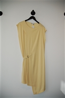 Pale Yellow Jeremy Laing Tunic Dress, size S