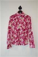 Floral Dolce & Gabbana Button Blouse, size 6