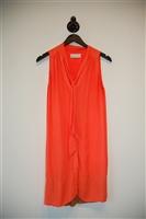 Neon Orange A.L.C. Shirt Dress, size S